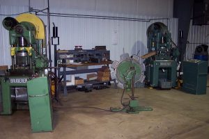 Two 30-ton High-Speed Bruderer presses