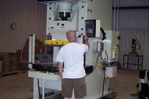 150-ton Komatsu press